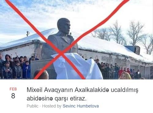 Azərbaycanlılar Tbilisidə aksiya keçirəcək -